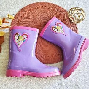 Disney Princess Purple and Pink Girls Rain Boots